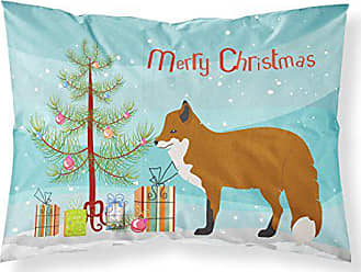 Carolines Treasures Pembroke Welsh Corgi Christmas Pillowcase Tree Standard