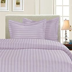 Elegant Comfort Silky-Soft 1500 Thread Count Egyptian Quality Wrinkle-Free 3-Piece Duvet Cover Set, Full/Queen, Lilac
