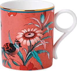 Wedgwood Paeonia Mug - Coral