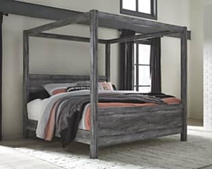 Ashley Furniture Baystorm King Poster Bed, Gray