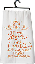 Primitives By Kathy LOL Made You Smile Dish Towel, If You If You Love A Coastie