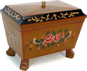 Wayborn Elegant Keepsake Jewelry Box With Mouldings - 14.5W x 12.5H in., Womens - FT018