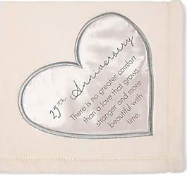 Pavilion Gift Company Pavilion - 25th Soft Royal Plush Blanket 50x60 Inch