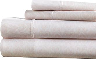 Noble Linens Premium Ultra Soft Classic in Pink Pattern Sheet Set by Noble Linens, Size: Queen - NL-4PC-CIP-Q-PI