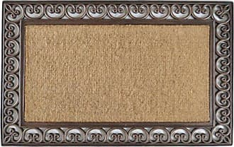First Impression Classic Paisley Border Extra Large Double Door Mat - A1HOME200085