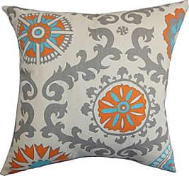 The Pillow Collection Kaula Geometric Bedding Sham Mandarin, Standard/20 x 26