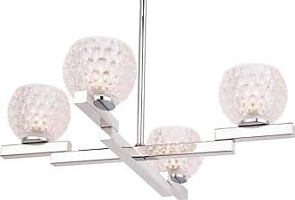 Woodbridge Lighting 18514 Jewel 4 Light 20 Wide Chandelier Chrome