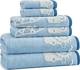 Kassatex Kasha Kids Construction Wash Cloth, Blue
