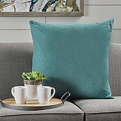 GDF Studio Christopher Knight Home 301601 Soyala Soft Smooth Fabric Throw Pillow (Dark Teal), 22.00 in. deep x 22.00 in. Wide x 6.30 in. high