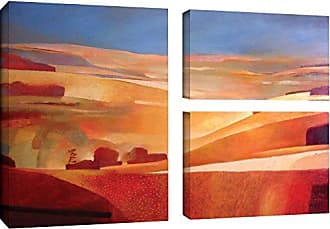 Brushstone Charlie Baird View 3 Piece Gallery Wrapped Canvas Flag Set, 24X36