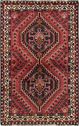 Nain Trading Handknotted Shiraz Rug 55x35 Dark Brown/Purple (Wool, Iran/Persia)