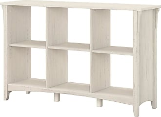 Bush Furniture Furniture Salinas 6-Cube Organizer In Antique White