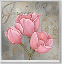The Stupell Home Décor Collection The Stupell Home Decor Collection Jardin Pink Tulips Wall Plaque