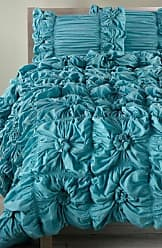 Rizzy Home Blue Knots Queen Quilt
