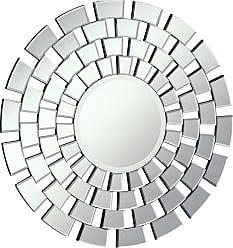 Elegant Furniture & Lighting Modern Round Wall Mirror - 32 diam. in. - MR-4002