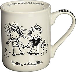 Enesco 62011 Mom (From Daughter) Mug, 4.5 H