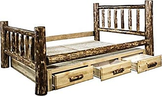 Montana Woodworks MWGCSBF Glacier Country Collection Bed with Storage, Full