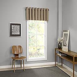 Ellery Homestyles KOZDIKO Eclipse Palisade Blackout Grommet Window Valance, 52 x 18, Clay