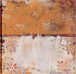 Art Maison Canada Orange Floral Abstract II Wall Art - HAYCD962CONL