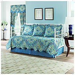 Ellery Homestyles WAVERLY Moonlit Shadows Daybed Set, 105x54, Lapis