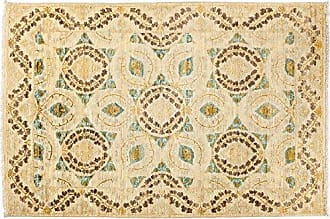 Solo Rugs Suzani Hand Knotted Area Rug 4 1 x 5 10 Beige