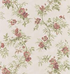 Brewster Home Fashions Fiorella Floral Trail Wallpaper Beige - 149-63810