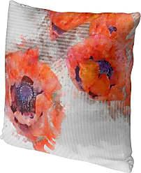 Kavka Designs Poppies Accent Pillow, Size: 16 x 16 - IDP-DI16-16X16-JAC075