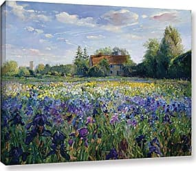 Brushstone Timothy Easton Evening At The Iris Field Gallery Wrapped Canvas, 24X32