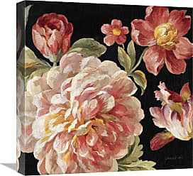Global Gallery Mixed Floral IV Crop I Canvas Wall Art - GCS-472062-3636-142