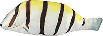 Wrapables Novelty Fish Style Pencil Case, Yellow