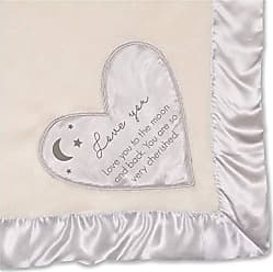 Pavilion Gift Company Love You to The Moon and Back. You are So Very Cherished. Plush Blanket