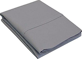 Superior P300SDPC SLGR, Cotton 300 Thread count Envelope closure pillowcases, Standard, Grey, 2 Piece