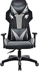 Pelegrin Cadeira Gamer Pelegrin Em Couro PU Reclinável PEL-3014 Preta E Cinza