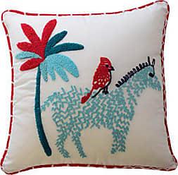 Ellery Homestyles Waverly Kids 16441015X015PNK Reverie 15-inch by 15-Inch Zebra Decorative Accessory Pillow, Pink