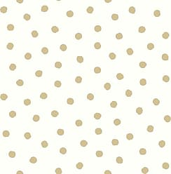 RoomMates Gold Dot Peel and Stick Wallpaper - RMK3524WP