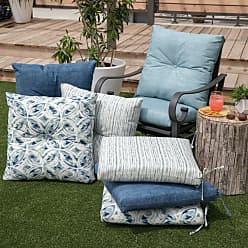 Belham Living New Harbor Outdoor Deep Seating Cushion Indigo Stripe - NEW HAVEN4