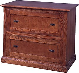 Forest Designs Customizable Mission Two Drawer Lateral File Cabinet - 1035-M