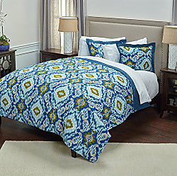 Rizzy Home Seaglass Comforter Set, King, Blue/Green