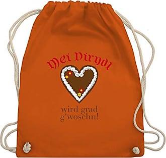 Shirt Turnbeutelamp; Shirtracer Wird Oktoberfest Bag Statt Unisize Gwoschn Orange Wm110 Gym DamenDirndl nwPkX0Z8ON