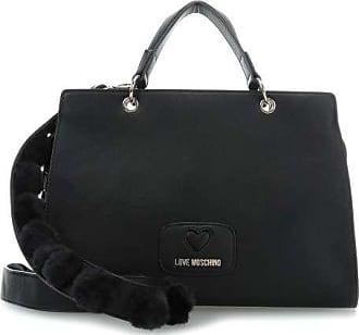 Love Handtasche Moschino Lovely Schwarz Pom P0OX8nwk
