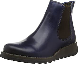39 blue Boots Damen 019 London Blau Salv Fly Eu Chelsea Wa8cpwq