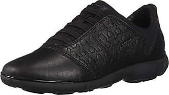 Nebula Noir Geox D C Eu Femme black C9999 Basses Sneakers 41 S7q4qBw