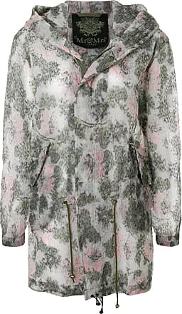 Sheer Mrs Parka Verde Mr Di Printed Italy amp; Colore qw4WPxzv
