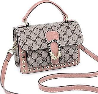 Mit umhängetasche Tasche Tragbar Quadratische Kleine Chengxiaoxuan Damen tasche Eine pink onesize Druck Umhängetaschen Modehandtaschen Klassischem Schulter xOn4nIR