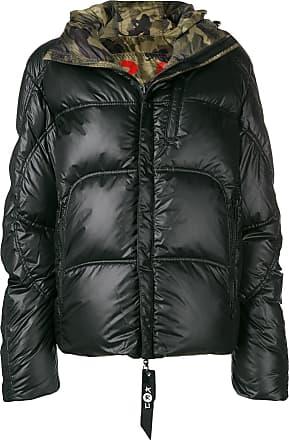 Reversible Kru Puffer Noir Oversized Jacket rA6ZwrWqU