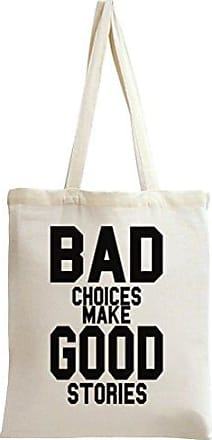 Styleart Bag Good Slogan Tote Bad Make Stories Choices rTw8rxB