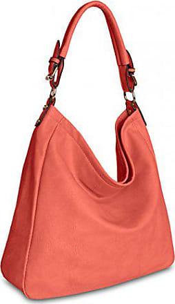 Umhänge handtasche schultertasche Ts910 koralle Farben Caspar Damen Tasche In Fashion Vielen Tasche Farbe TIAwRwpqxB