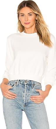 White LoversFriends White Sweatshirt Sweatshirt In Essential Essential Essential LoversFriends Sweatshirt In LoversFriends gyvf7b6Y