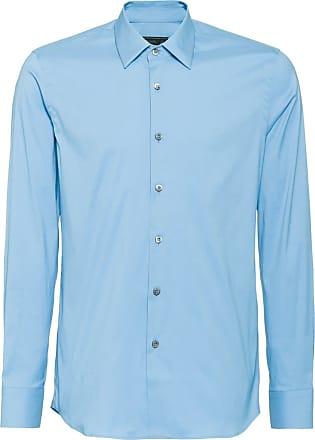 Prada Hemd Hemd Mit Knöpfen Blau Prada 0HpnwxB