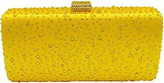 Hot Abendtasche Braut Dinner Kette 195 Bankett Diamond Addora 10cm Clutch Bag Tasche Handtasche Damen Fashion yellow Strass Kleid O8mnvNy0wP